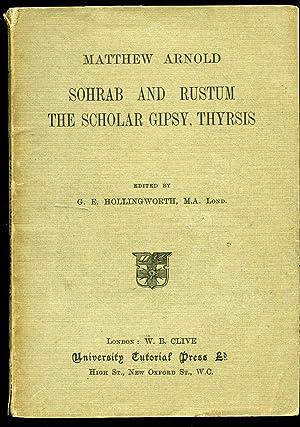 matthew arnold the scholar gypsy