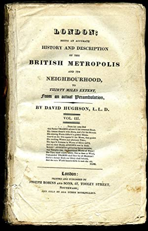 London; Being an Accurate History and Description: Hughson, David