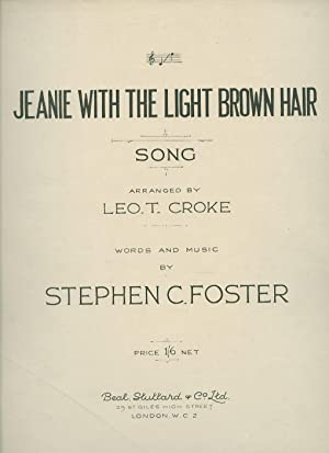 Jeanie With The Light Brown Hair [Piano: Foster, Stephen C.