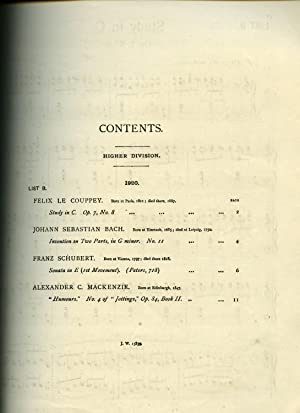 Studies and Pieces for the Pianoforte Contained: The Associated Board