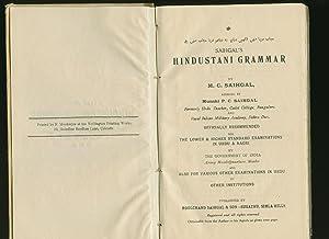 Saihgal's Hindustani Grammar in Three Simultaneous but: Saihgal, M. C.