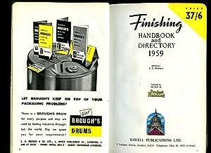 Finishing Handbook and Directory 1959: Woollard, Christopher S.