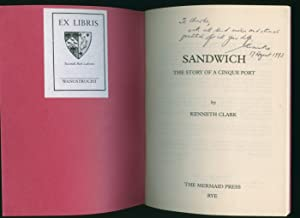 Sandwich; The Story of a Cinque Port: Clark, Kenneth