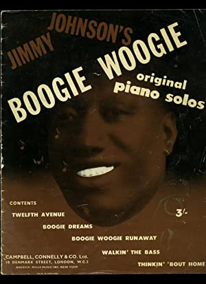 Jimmy Johnson's Boogie Woogie Original Piano Solos [Piano Sheet Music] Contains: Twelfth ...
