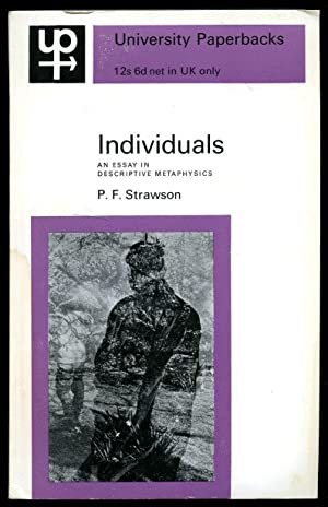 Individuals an essay in revisionary metaphysics