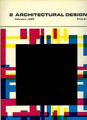 Architectural Design Magazine Volume 36 February 1966: Monica Pidgeon  [Edited