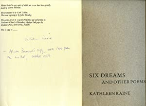 Six Dreams and Other Poems [Signed]: Raine, Kathleen [Kathleen