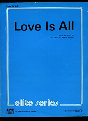 Love Is all [Vintage Piano Sheet Music]: Les Reed and