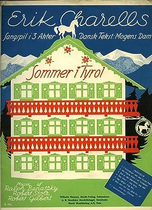 Sommer i Tyrol [Vintage Piano Sheet Music] I Sommersol ved den hvide Hest [In Summer at the White ...