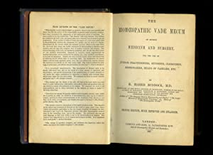 The Homoeopathic [Homeopathic] Vade Mecum of Modern: Ruddock, Edward Harris