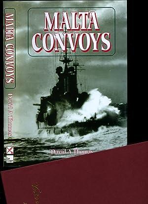 Malta Convoys 1940-42: The Struggle at Sea: Thomas, David A.