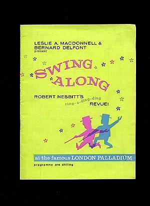 Swing Along Robert Nesbitt's Ring-a-ding-ding Revue Souvenir Theatre Programme at the London ...