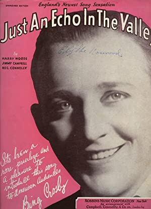 Just an Echo In the Valley (Fox-Trot): Bing Crosby [Harry