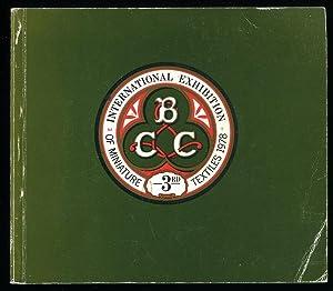 Third International Exhibition of Miniature Textiles Catalogue: Barron, Andrew [Designed