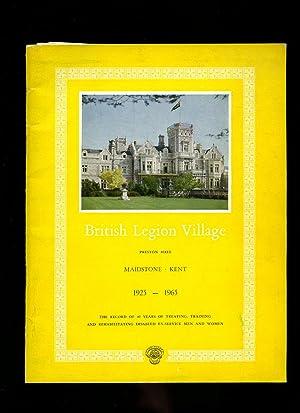 British Legion Village: Preston Hall, Maidstone, Kent: British Legion]
