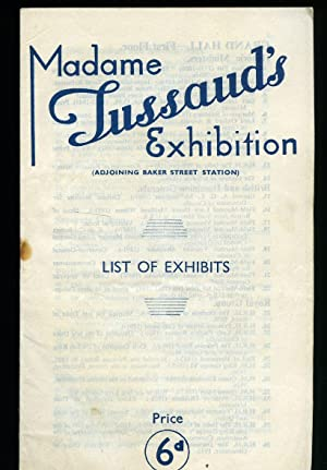 Madame Tussaud's Exhibition; List of Exhibits: Madame Tussaud