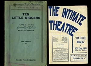 Ten Little Niggers, A Play in Three: Christie, Agatha [1890-1976]