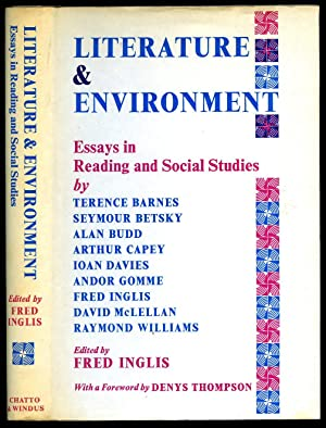 Literature & Environment; Essays in Reading and: Edited by Fred