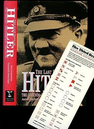 The Last Days of Hitler; The Legends,: Joachimsthaler, Anton [Translated