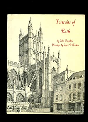 Portraits of Bath; Captured in Thoughtful Poems: Tompkins, John [Drawings