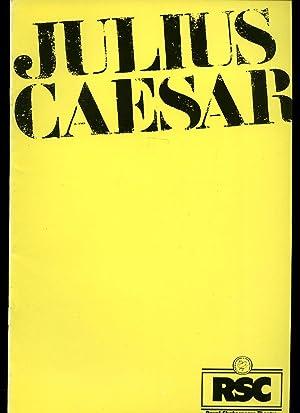 Julius Caesar: Souvenir Theatre Programme Performed by: William Shakespeare [Starring