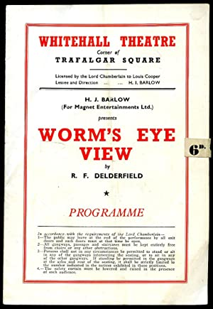 Worm's Eye View: Souvenir Theatre Programme Performed: R. F. Delderfield