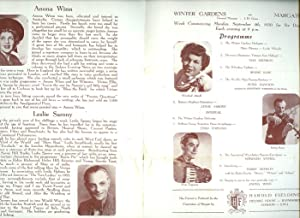 Music for the Millions: Souvenir Theatre Programme: Harold Fielding [Starring