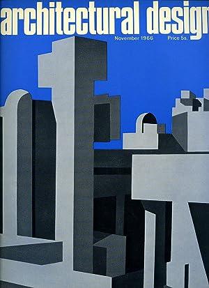 Architectural Design Magazine Volume XXXVI (36) November: Monica Pidgeon  [Edited