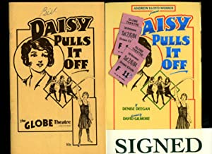 Daisy Pulls It Off: Souvenir Theatre Programme: Denise Deegan [Starring