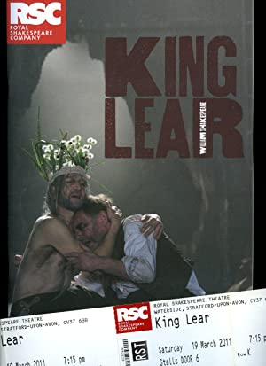 King Lear: Souvenir Theatre Programme Performed at: William Shakespeare [Starring