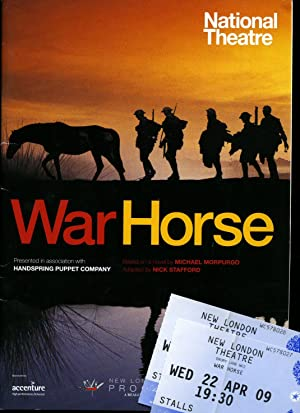 War Horse: Souvenir Theatre Programme Performed at: Michael Morpurgo (Adapted