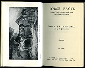 Horse Facts; A Brief Study of Points: Lamb, Major A.