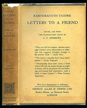 Letters To A Friend: Tagore, Rabindranath [Rabindranath