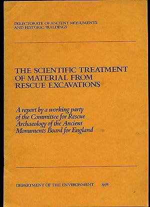 The Scientific Treatment of Material From Rescue: Birk, Alma (Directorate