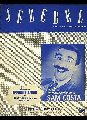 Jezebel | Recorded by Frankie Laine[Vintage Piano: Wayne Shanklin (Words