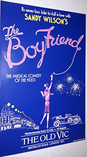 Original Vintage Theatre Poster From The Old: Sandy Wilson [Directed