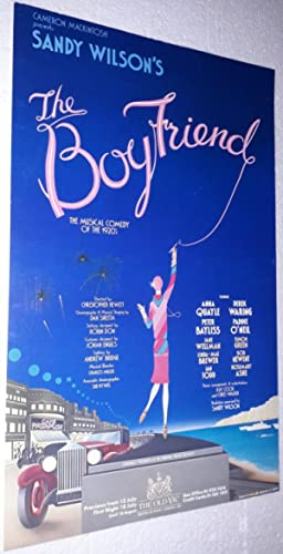 Original Vintage Theatre Lobby Poster From The: Sandy Wilson [Directed