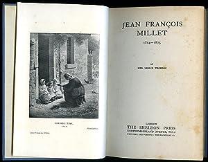 Jean François Millet 1814-1875: Thomson, Mrs. Leslie