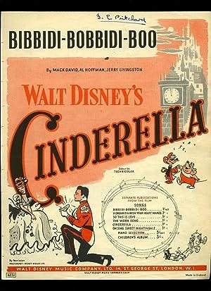 Bibbidi-Bobbidi-Boo (The Magic Song) from Walt Disney's: Words and Music