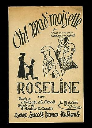 Oh! Mad'Moiselle (Fox Swing)   Roseline [Musicians: Raoul Monis (Music)