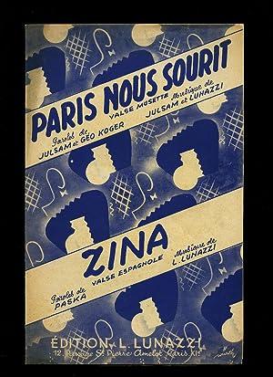 Paris Nous Sourit (Valse Musette) | Zina: Julsam and L.