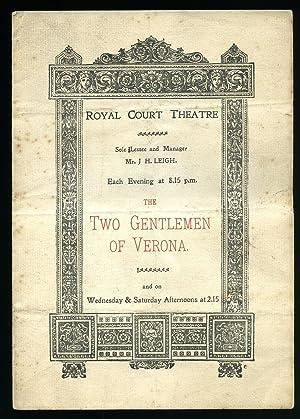 The Two Gentlemen of Verona: Souvenir Theatre: William Shakespeare [Starring