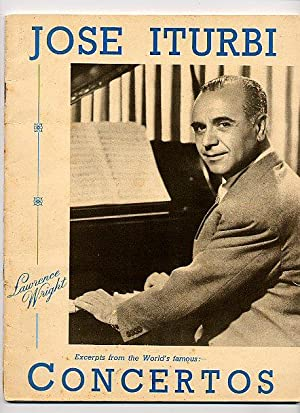 Jose Iturbi; Excerpts from Concertos arranged for: Ambroise, Victor [Jose