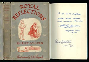 Royal Reflections: Stories for Children [Signed]: Goulden, Shirley [Illustrated