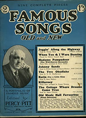 Famous Songs Old and New; Part No.: Edited by Percy