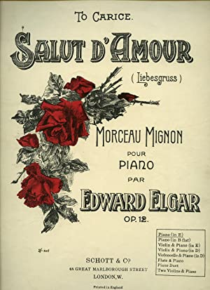Salut D'Amour [Liebesgruss] Opus 12 [Vintage Piano: Elgar, Edward [Morceau