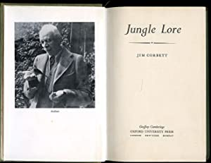 Jungle Lore: Corbett, Jim