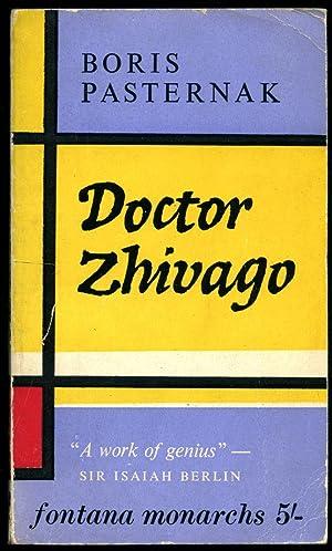 Doctor Zhivago | Fontana Books Number 483M: Pasternak, Boris [Translated
