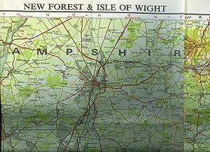 Bartholomew National Map Series 1:100 000; Map: John Bartholomew Ltd]