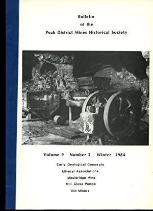 Bulletin of the Peak District Mines Historical: J. H. Rieuwerts,